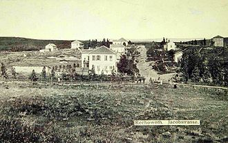 Rehovot - Jacob Street, Rehovot, in 1893