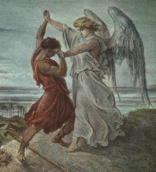 Jacob Wrestling with the Angel (cropped)