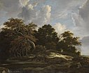 Jacob van Ruisdael - Waldlandschaft mit Hasenjagd - 872 - Bavarian State Painting Collections.jpg