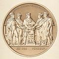 Jacques Édouard Gatteaux, Design for a Medal Commemorating the Treaty of Paris, 1814.jpg