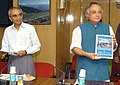 Jairam Ramesh releasing a book titled 'Standard Operating Procedures for Sterilisation of Stray Dogs under the Animal Birth Control Programme', in New Delhi on July 10, 2009.jpg