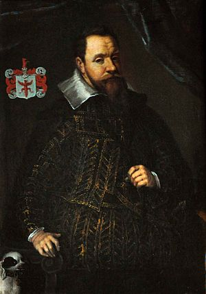 Jacob Ulfeldt (born 1567) - Ulfeldt dressed in the Spanish fashion in 1610