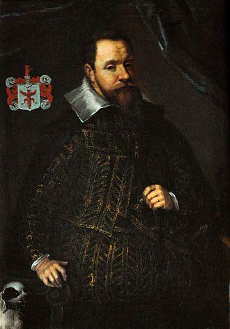 Jacob Ulfeldt (born 1567) - Ulfeldt dressed in the Spanish fashion in 1610