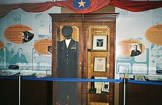 James H. Howard - The Gen. Howard exhibit, including his Medal of Honor, at St. Petersburg-Clearwater International Airport