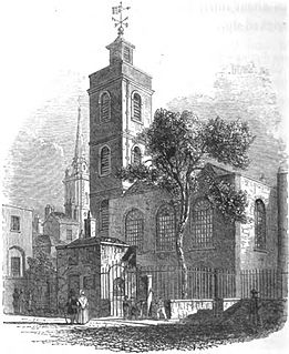 St James Dukes Place Church in City of London