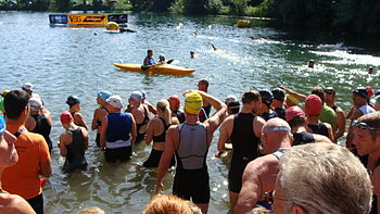 Deutsch: Jannersee-Triathlon