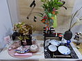 Japanese Festival in Vigadó. Japanese table setting to spring and summer by Nishikawa Natsuko. - Budapest.JPG