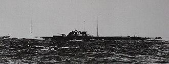 Kaidai-type submarine - I-158 in 1927