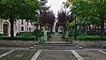 Jardín del Colegio Mayor de Santa Cruz. Valladolid.jpg