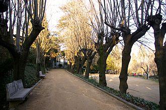 Anglès, Girona - Can Cendra gardens, in Anglès