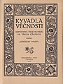 Jaroslav Maria Kyvadla věčnosti 1920.jpg