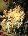 Jean-Baptiste Greuze La mère bien-aimée Madame de Laborde détail.jpg