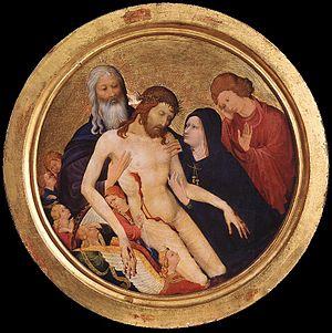 Large Round Pietà