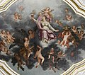 Jean Riga, La Foi (1720), ceiling painting in the Salle du conseil communal in the Liège townhall.jpg
