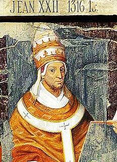 Pope John XXII 14th-century pope of the Roman Catholic Church