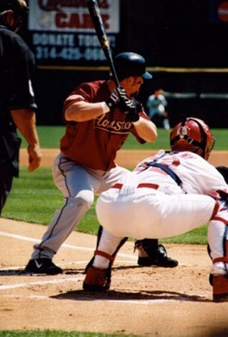 Jeff Bagwell - Bagwell at bat for the Astros