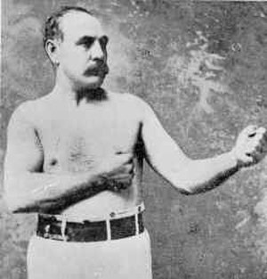 Thomas King (boxer) - Jem Mace whom King defeated in 1863 to become the heavyweight champion of England.