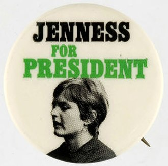 Age of candidacy - In 1972, Linda Jenness ran for President of the United States, although she was 31 at the time.