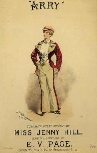 Alfred Concanen - Image: Jenny hill arry