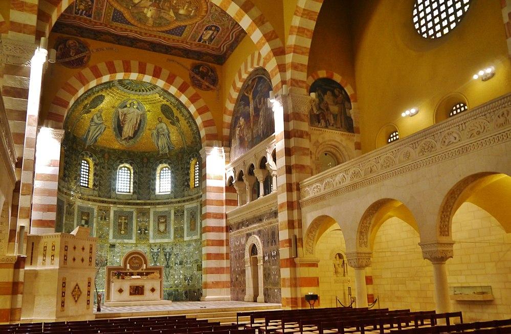 Jerusalem Himmelfahrtskirche Innen 1