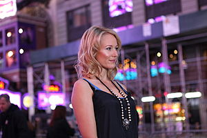 Jewel (singer) - Jewel being interviewed at the Yahoo! Yodel event in New York City, October 2009.