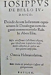 work by Flavius Josephus