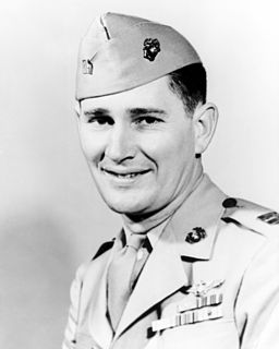 Joe Foss United States Marine Corps Medal of Honor recipient