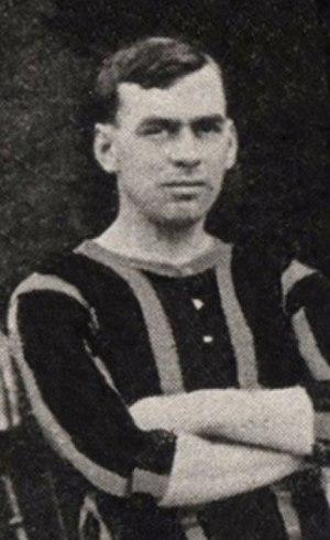 Joe Ryalls - Ryalls while with Brentford in 1908.