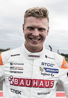 Johan Kristoffersson Swedish racing driver