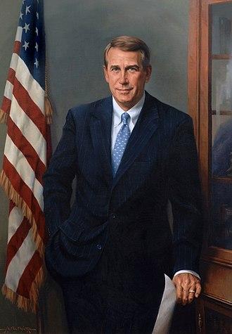 John Boehner - 2006 portrait of Boehner