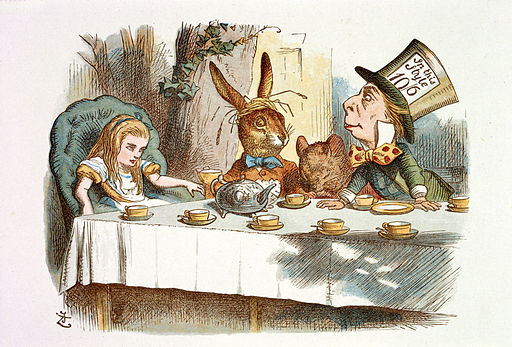 John Tenniel - Illustration from The Nursery Alice (1890) - c03757 07
