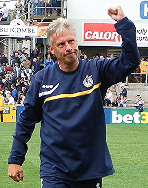Joe Dunne - John Ward, whom Dunne succeeded as Colchester United manager