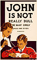 John is not really dull, WPA poster, ca. 1937.jpg
