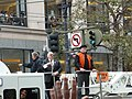Jon Miller and Mike Krukow at 2012 Giants victory parade.jpg