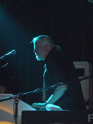 Jon Lord - Lord performing for The Sunflower Jam, London, 2007
