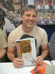Joshua Dysart, Free Comic Book Day 2012.jpg