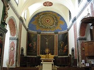 Joucas - Image: Joucas autel église