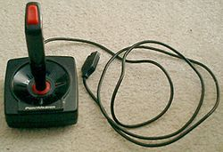 The joystick was the primary input device for 1980s era games.  Now game programmers must account for a wide range of input devices, but the joystick today is supported in relatively few games, though still dominant for flight simulators.