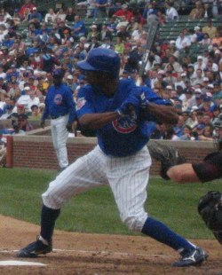 Juan Pierre on April 11, 2006