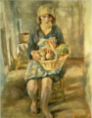 JulesPascin-1929-Geneviève with a Fruits Basket.png