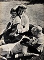 June Allyson with Pamela and Richard, 1955.jpg