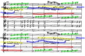 Symphony No. 41 (Mozart) - Image: Jupiter fragment