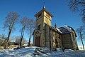 Kłodnica Dolna - kościół drewniany.JPG