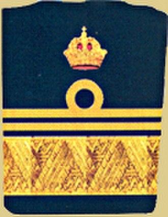 Vizeadmiral - Cuff title