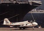 KA-6D Intruder of VA-196 on the ground c1988.jpg