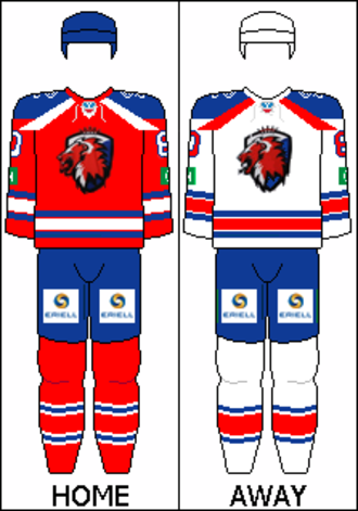 HC Lev Praha - Image: KHL Lev Praha 2012 13