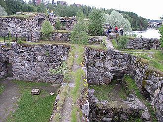Kainuu - The Kajaani Castle ruins