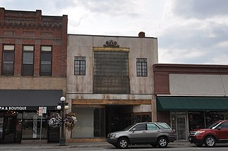 National Register of Historic Places listings in Flathead County, Montana - Image: Kalispell MT Anderson Style Shop