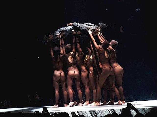 Kanye West Yeezus Tour Live