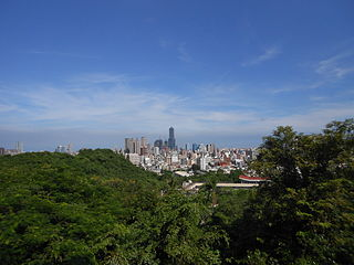 Gushan District District in Southern Taiwan, Taiwan